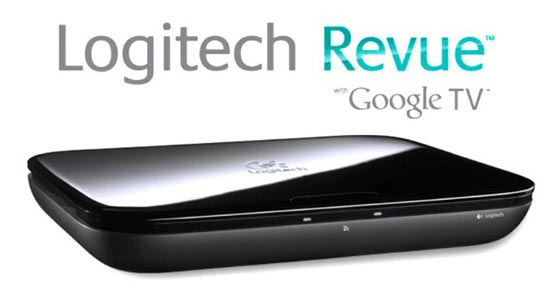 logitech revue tv google