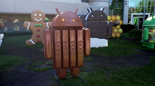 logo android 4 4 kitkat