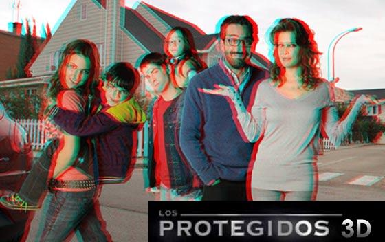 los protegidos cine 3d