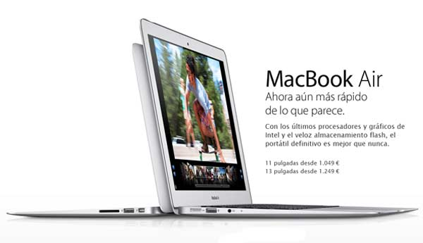 macbook air apple 2012
