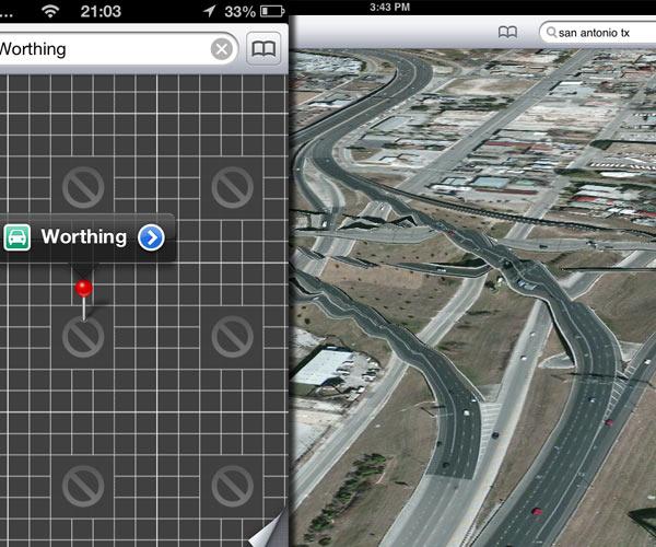 mapas apple ios 6