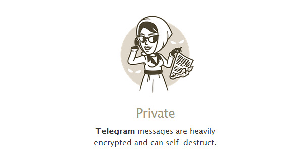 mensajes secretos telegram