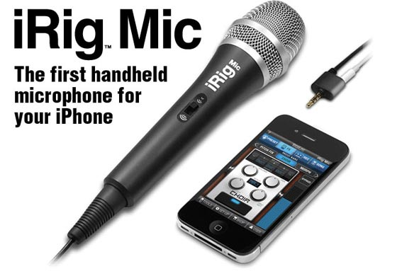 microfono iphone 4 irig mic