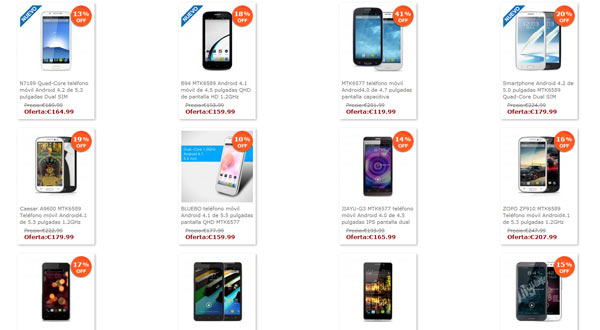 Marcas y tiendas donde comprar un m vil android barato de china - Donde comprar fundas para moviles ...