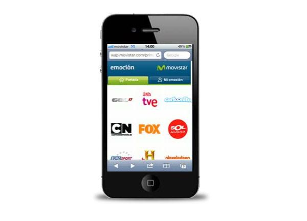 movistar imagenio iphone ipad