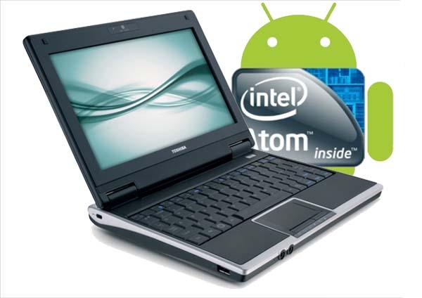 Android 2.2 se podrá instalar en netbook y Tablet con Intel