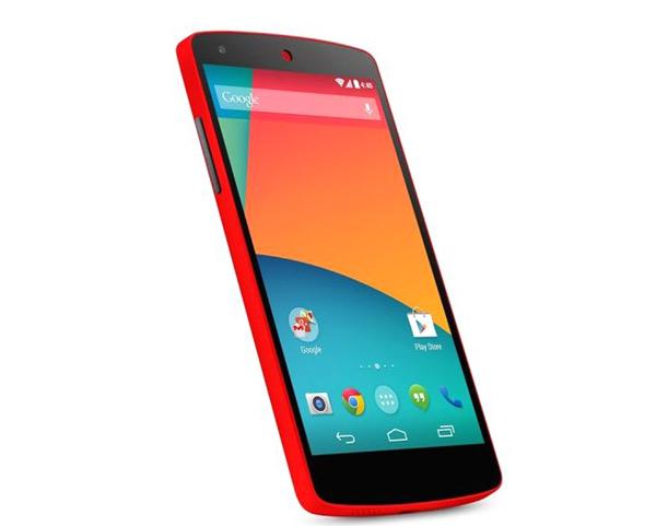 nexus 5 rojo 2