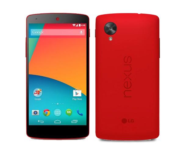 nexus 5 rojo pantalla