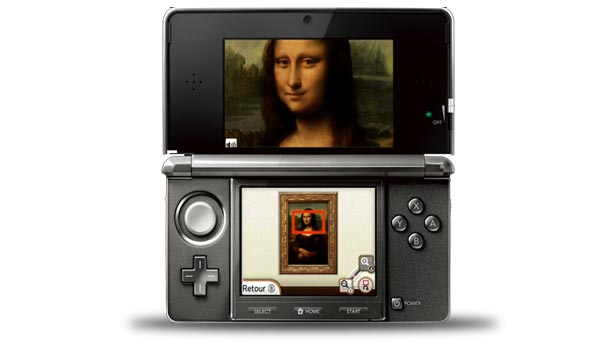 nintendo 3ds museo louvre