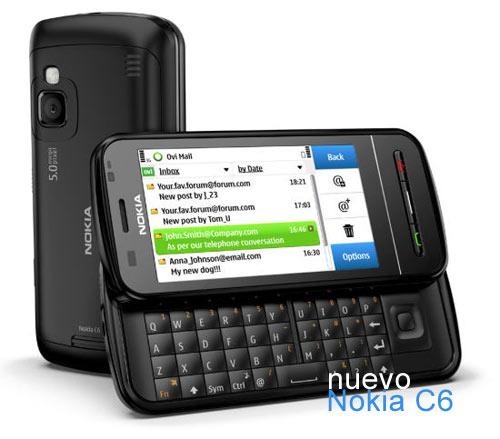 Nokia C3, Nokia C6 y Nokia E5, teléfonos sociales