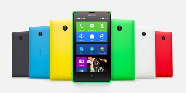 nokia x colores android