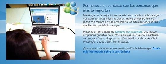 nuevo messenger 2011