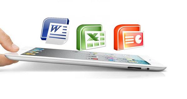 office ipad aplicacion