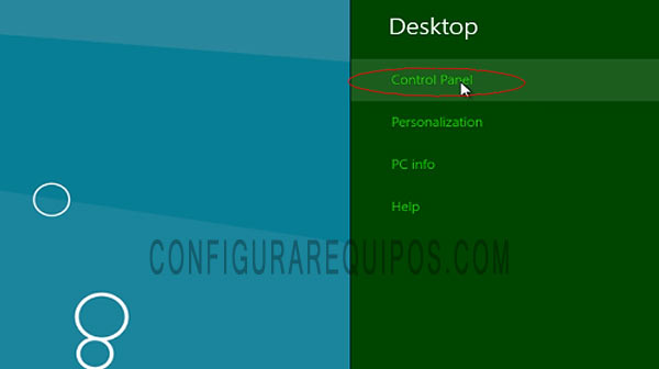 Crear y eliminar particiones en Windows 8