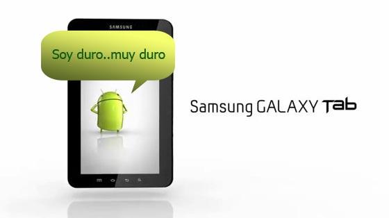 pantalla galaxy tab