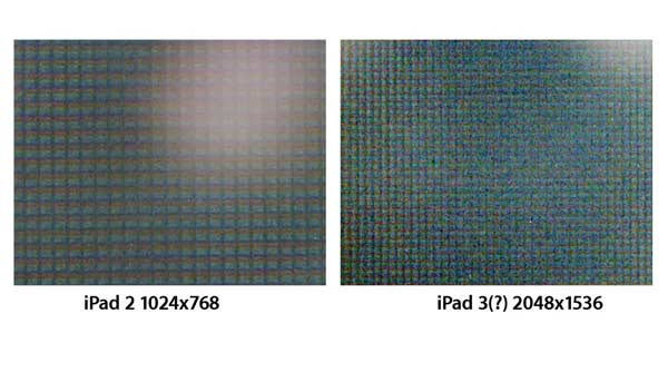 pantalla ipad 3 retina display