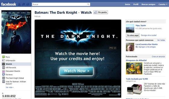 Películas On-Line en Facebook!