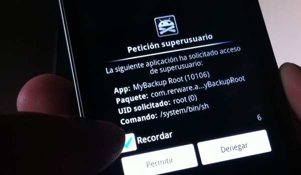permisos root android
