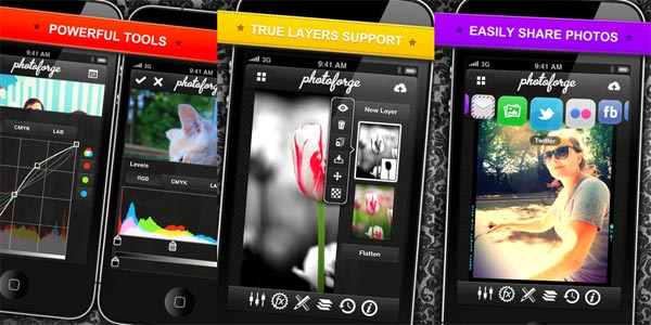 photoforge 2 iphone ipad