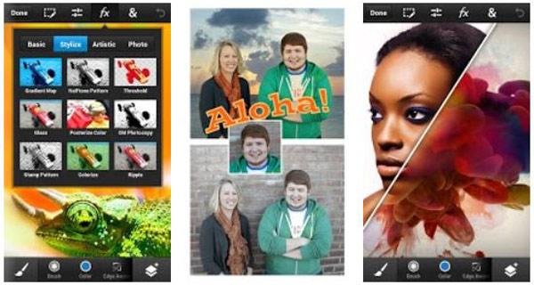photoshop funciones android
