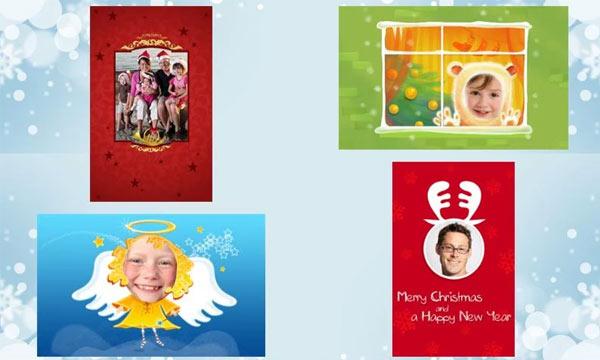 postales navidad android