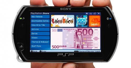 precio juegos psp go sony