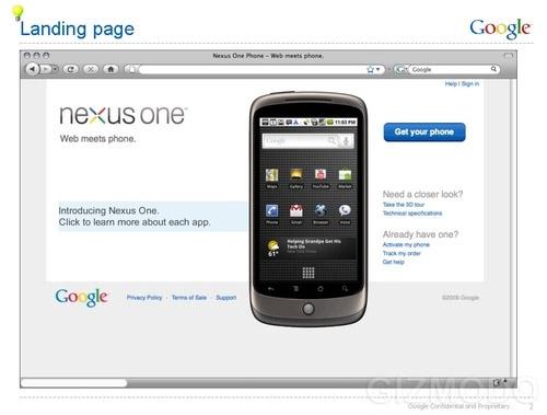 precio nexus one google