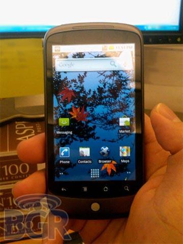 precio nexus one telefono google