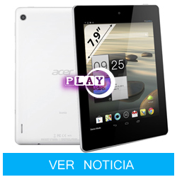 Acer Iconia A1-810, nuevo Tablet Android barato y potente