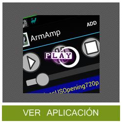 ArmAmp, un nuevo reproductor de música para Android con ecualizador