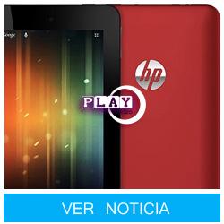 HP Slate 7, un Tablet Android barato y de tímidas características