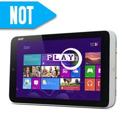 Acer Iconia W3-810, el primer Tablet Windows 8 Low Cost y 8 pulgadas