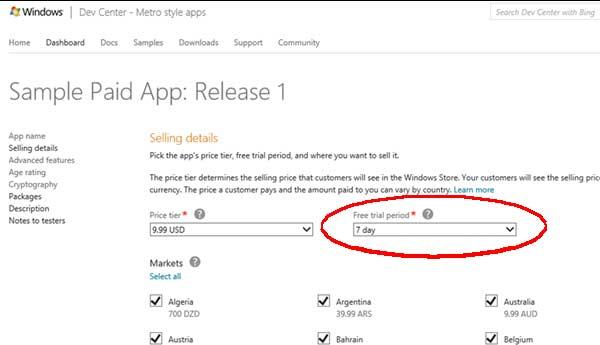 probar gratis aplicaciones windows 8