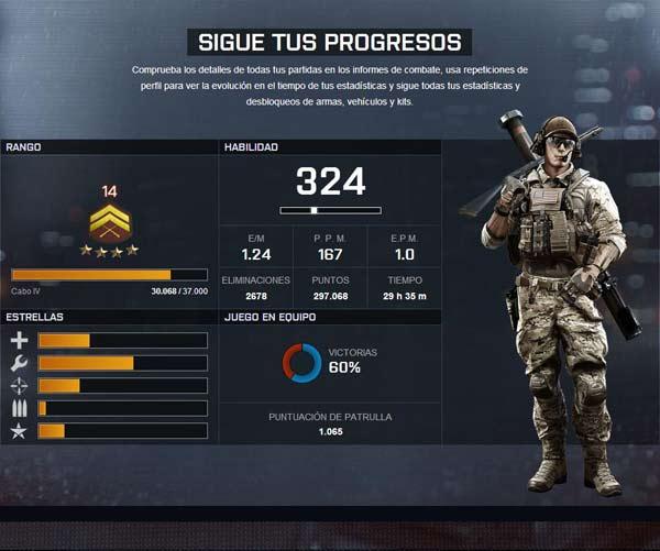 progresos battlefield 4