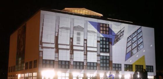 projection mapping urbanscreen