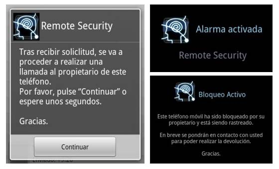 remote security android