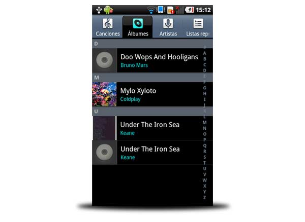 reproductor musica android