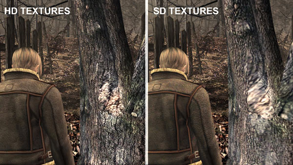 resident evil 4 hd steam comparativa