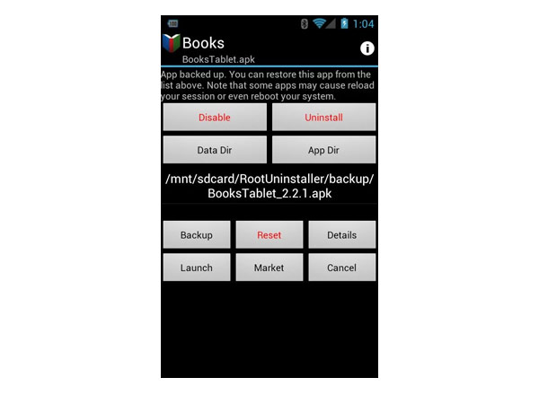 root desinstalar apps android fabrica