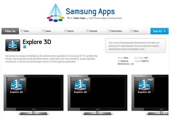 samsung explore 3d