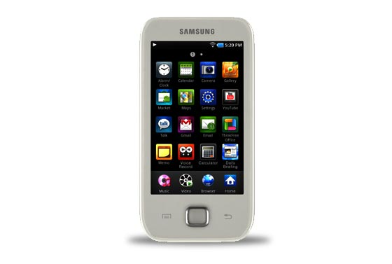 samsung galaxy player yp g50
