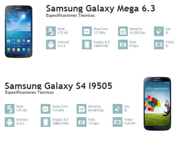 samsung galaxy s4 vs galaxy mega