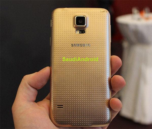 samsung galaxy s5 dorado