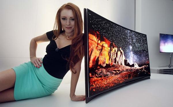 samsung television 4k curvada