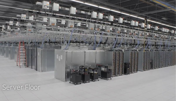 servidores google data center
