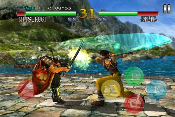 soul calibur android gameplay