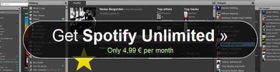 spotify unlimited  spotify