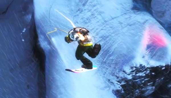 ssx snowboard