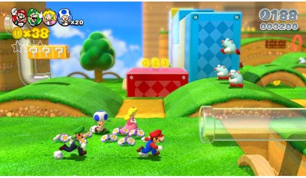 super mario 3d world wii u gameplay
