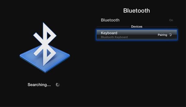 teclado bluetooth apple tv